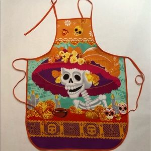 Accessories - 💀 Mexican Skull Apron 💀